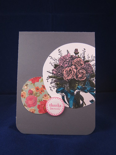 """Thanks (so much)"" Bouquet card by jupigare"