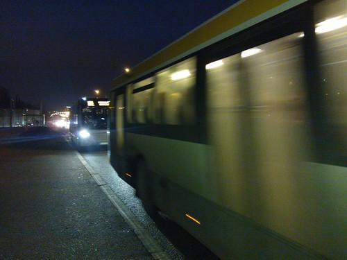 Buses in November
