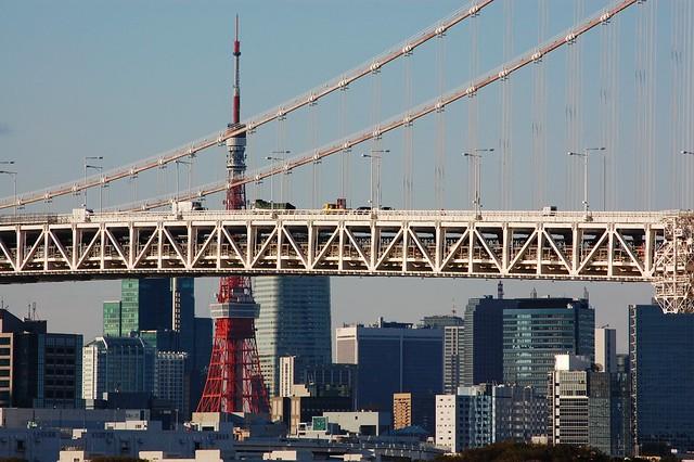 Rainbow Bridge & Tokyo Tower