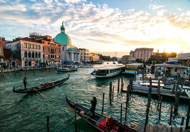 Gondoliers of Venice