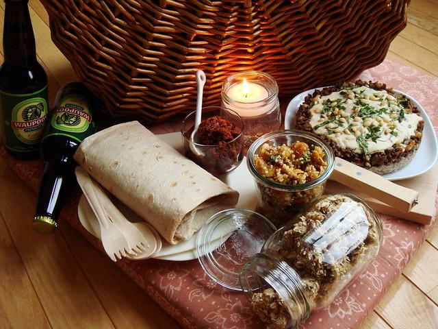 indoor picnic for two flickr photo sharing. Black Bedroom Furniture Sets. Home Design Ideas