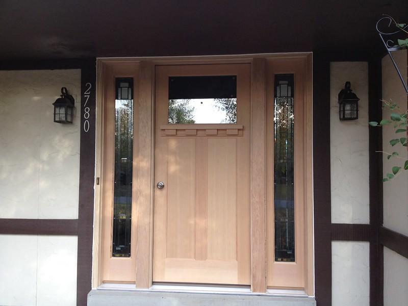 282 door installed