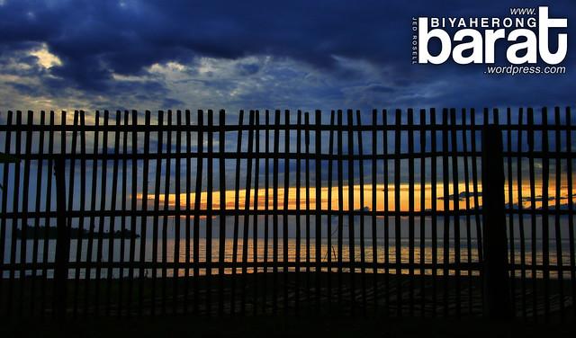 Sunset in Uacon Candelaria Zambales Potipot Island