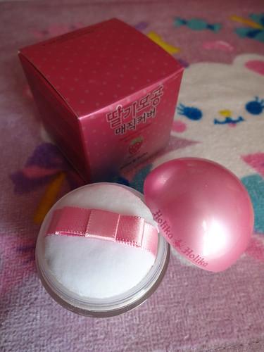 holika holika strawberry face powder
