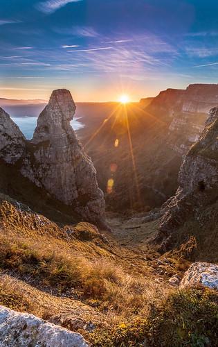 Amanece en el Pico del Fraile