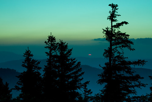 blue sunset orange sun green schweiz switzerland sonne solothurn tanne hasenmatt pwnight
