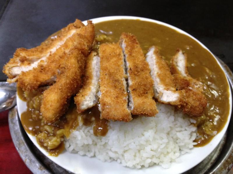 美富士食堂 カツカレー