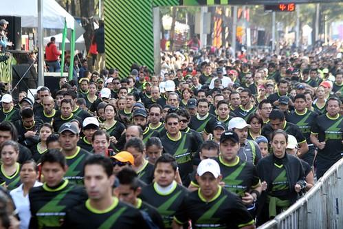 Fotos de la carrera Nike We Run México 2012 en el DF