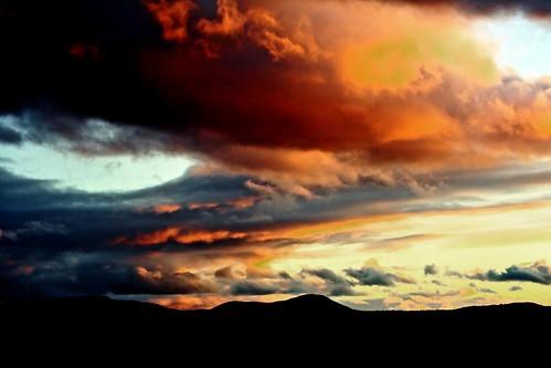 sunset sky sun mountains nature clouds canon landscape photography rebel xt colorful vermont eosdigital pawlet