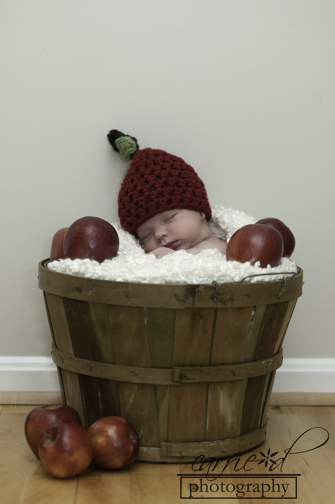 Northern Virginia Newborn Photographer - Leesburg Virginia Newborn Photography - Newborn Photography - Family Photography - Newborn Apple Hat - Charlie 11-15-2012 (103 of 169)