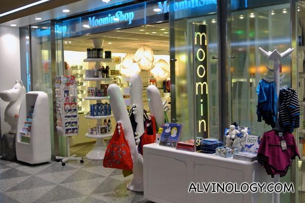 A Moomin shop!