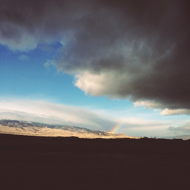 Today's run, brought to you by Roy G Biv #runvanessarun #thisisreno #homemeansnevada