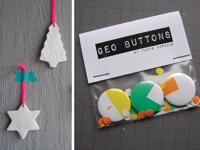 Hangers & buttons