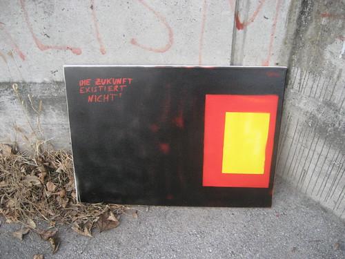 """""""Die Zukunft existiert nicht"""" by Patrick Seabird"""