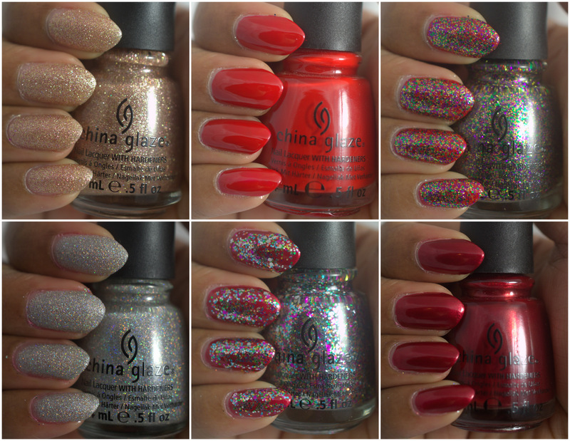 Amor de Lacquer: China Glaze Holiday Joy collection, part II