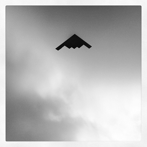 Stealth Bomber by dvlmnkillatron