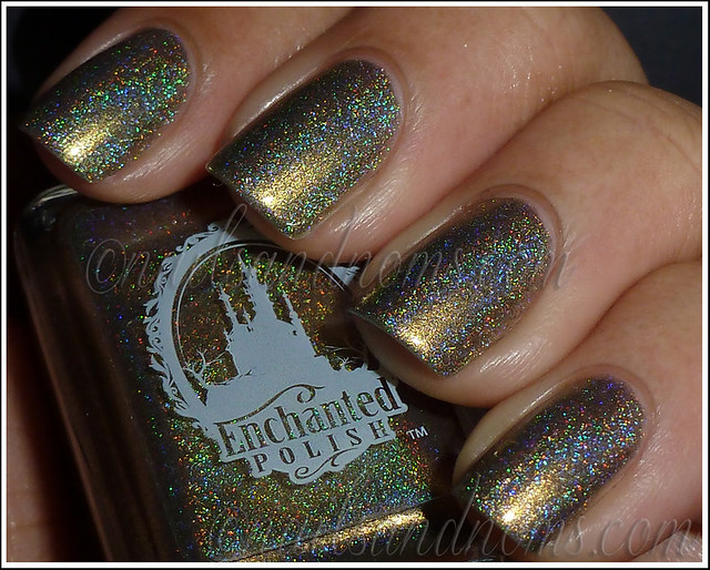 Enchanted Polish Ho Ho Holoday - Olive The Other Reindeer Flash 2