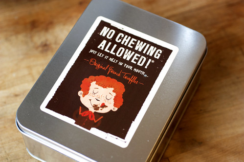 no chewing allowed