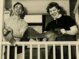 Most Mischievous, Senior Superlatives, Alexander Wilson High School, 1954