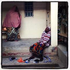 Patient screening. Murtala Muhammad Hospital. Kano, Nigeria. Monday, December 3, 2012.