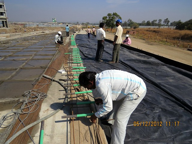 6 Lane Concrete Road - Development in the 1st Year - Kolte-Patil Life Republic Marunji, Hinjewadi - Kasarsai Road, Pune 411057