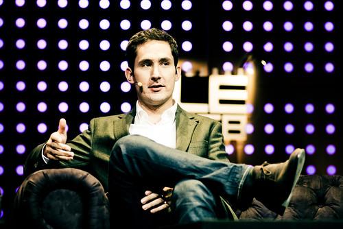 PDG et cofondateur de Instagram: Kevin Systrom