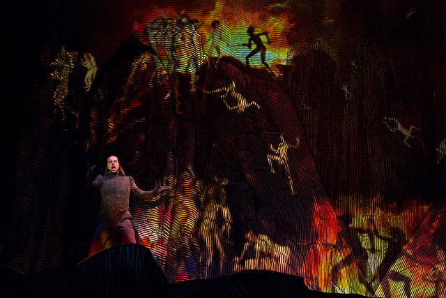 John Relyea as Bertram in Robert le diable © ROH / Bill Cooper  2012