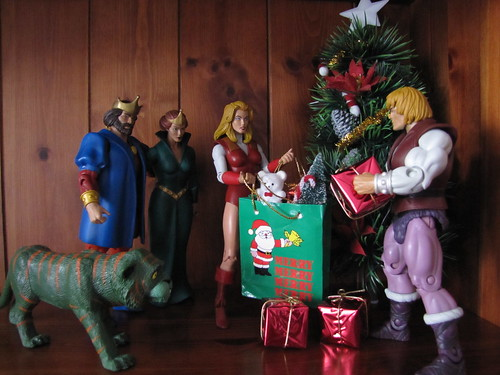 Christmas at the palace of Eternia