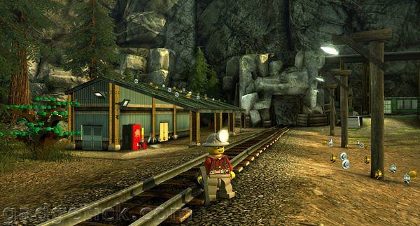 скриншоты LEGO City Undercover
