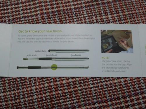 sensu 筆つきタッチペンを買ったよ