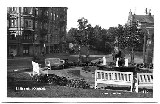 Skillebekk. Drammensveien. Oslo.