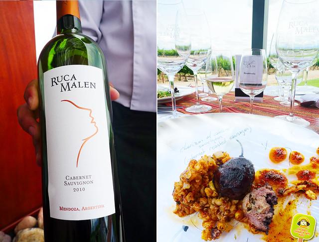 Bodega Ruca Malen Tasting Menu with wine pairing- Mendoza 3