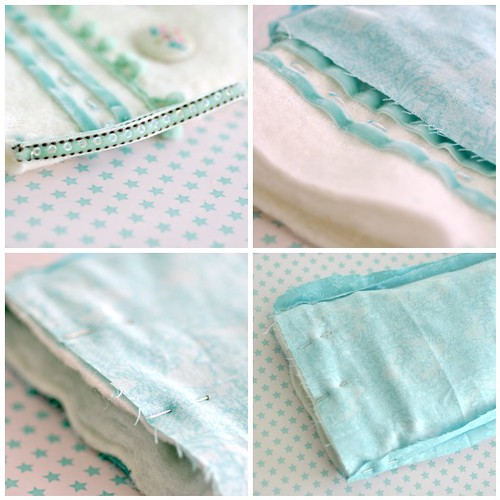Embellished stocking steps 13-16