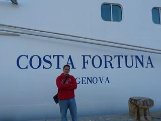 Fotografía en el Costa Fortuna