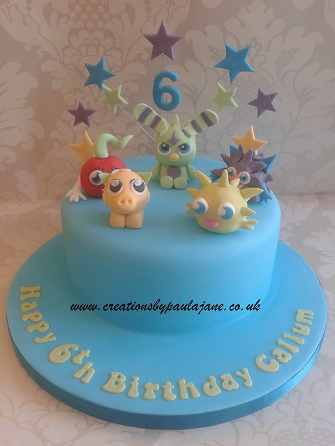 Cake Art Creations By Jane : Flickriver: Searching for photos matching  moshi monster cake