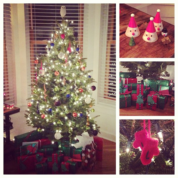 The tree is decorated and the presents are wrapped! #christmas