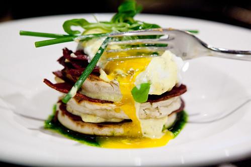 Oozy egg yolk