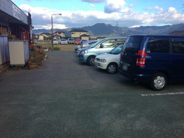 共同の駐車場
