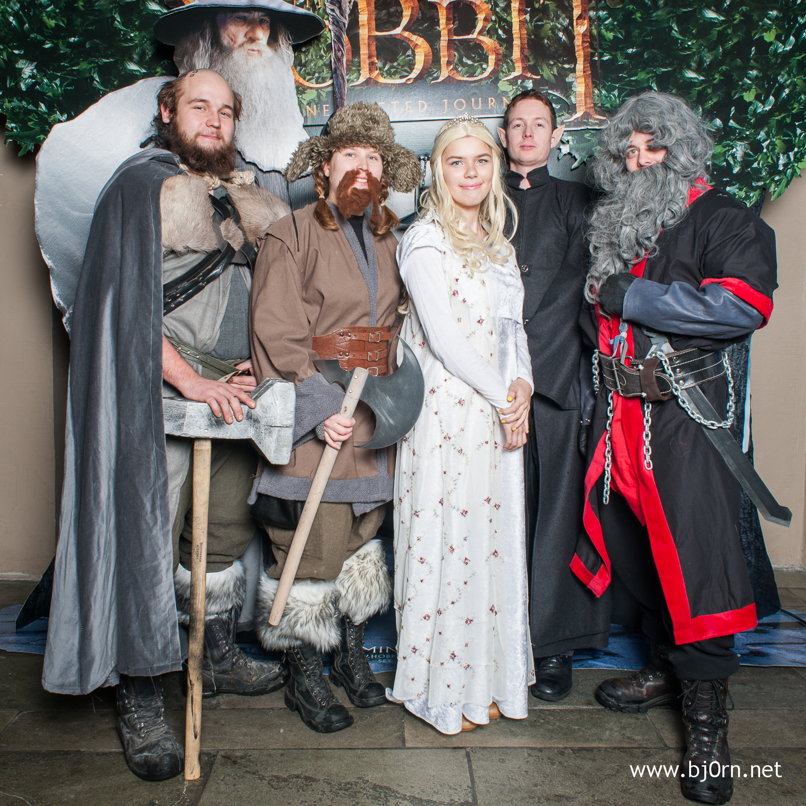 Hobbit Premiere at Nova Kino