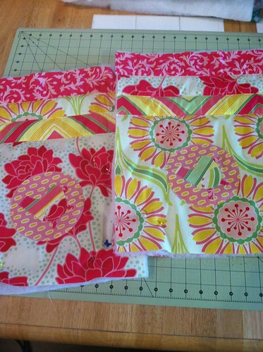 doll bed quilts WIP