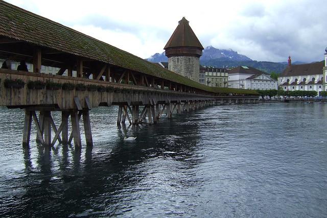Kapellbrücke in Lucerne