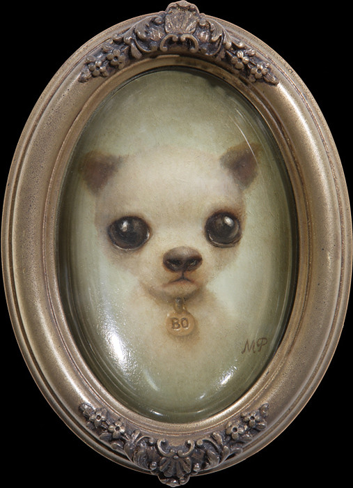 Marion Peck, Little Puppy, Oil on canvas, 2007