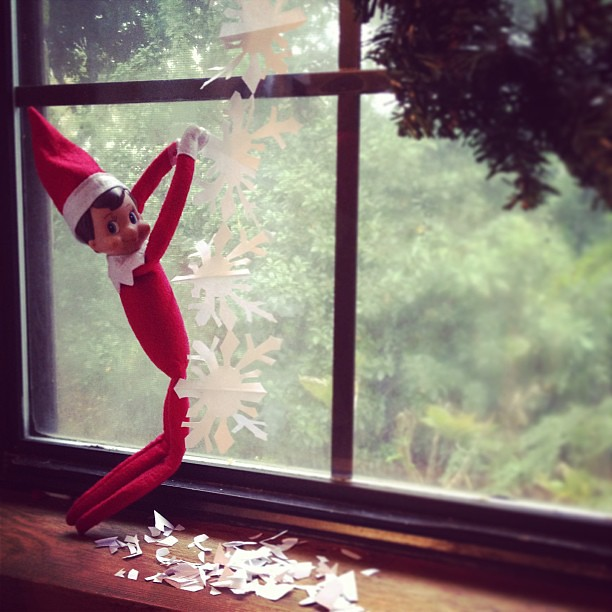 Elf on the Shelf : Day 17