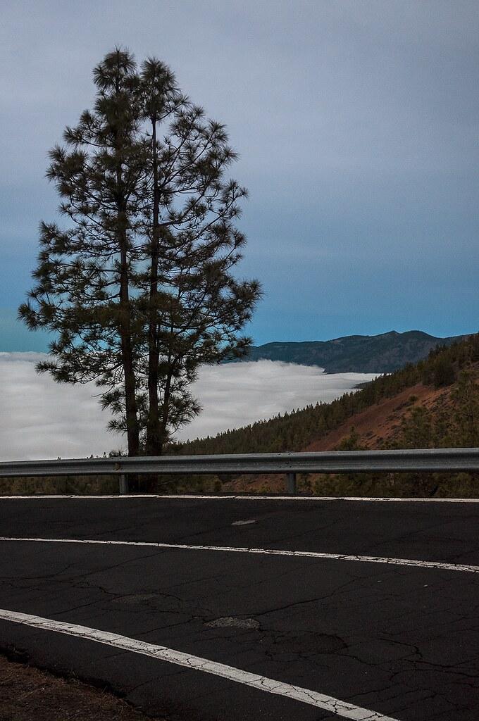 Tenerife. Teide. Twilight.