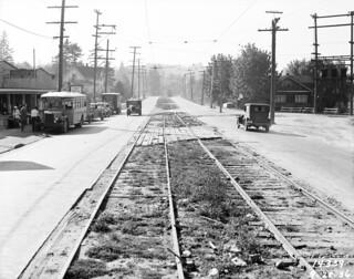 Rainier Avenue near 56th, 1936