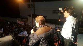 Paulinho da Força apoia Elvis Cézar-45 à reeleição em Santana de Parnaíba (SP)