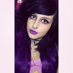 I don't wanna hype ya, but you a lucky nig** if my mean ass like ya 💁💖 #Me #selfie #diinadaring #goth #galaxy #bodypiercer #tumblrgirl #pink #galaxyunicorn #alternativegirl #grunge #grungegirl #pastelgoth #pastelgot