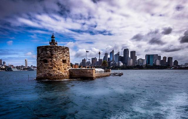 Fort Denison keeping watch over Sydney