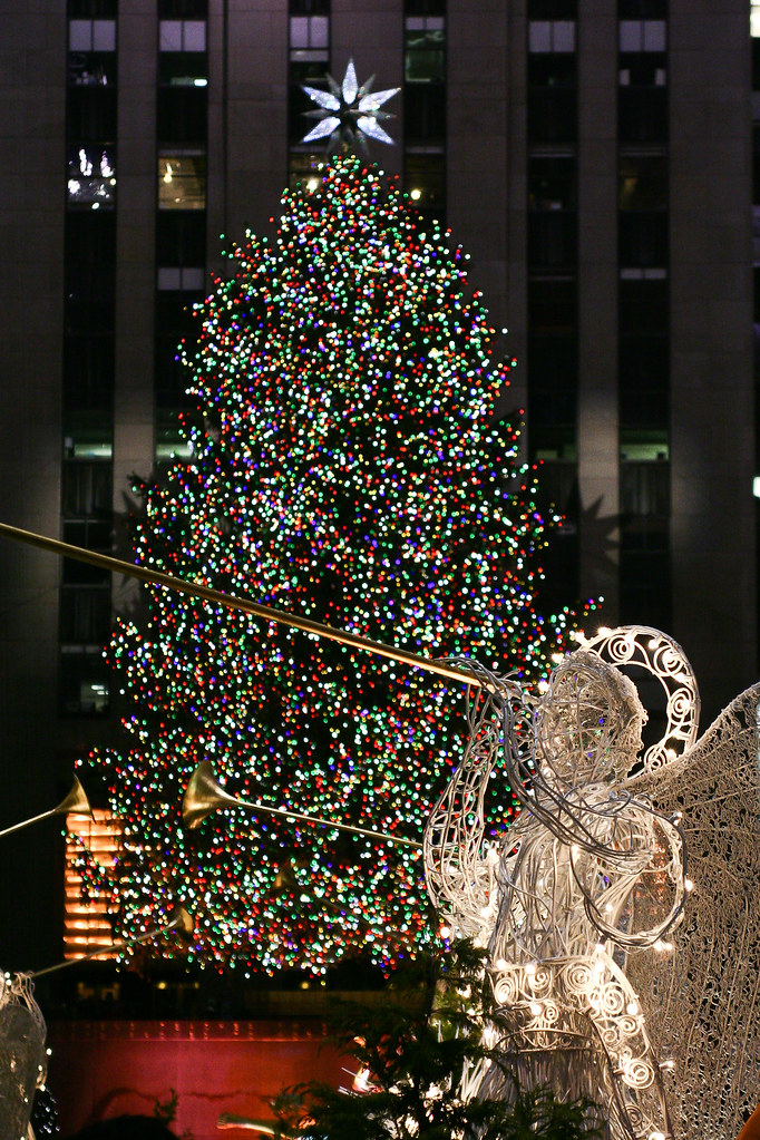 árvore de natal do Rockefeller Center