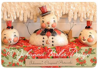 Johanna-Parker-Snowmen-Originals